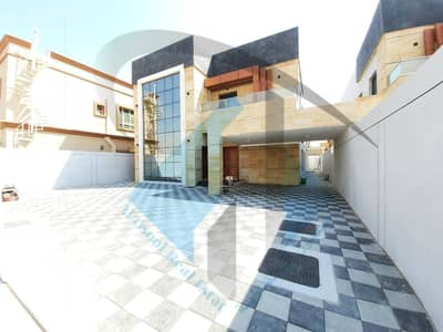 5 Bedroom Villa for Sale in Al Mowaihat, Ajman - Villa for sale in the emirate of Ajman, Al Mowaihat area, European finishing, one of the finest Ajman villas