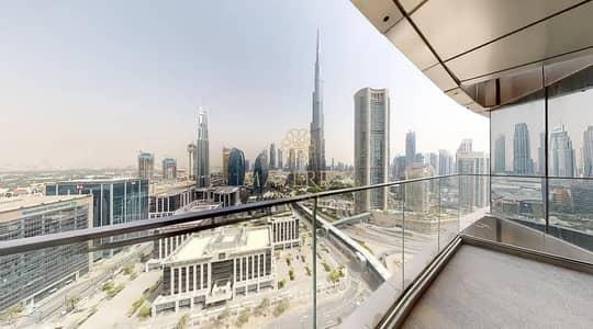شقة 3 غرف نوم للايجار في وسط مدينة دبي، دبي - Burj Khalifa View | Brand New Furnished 3BR