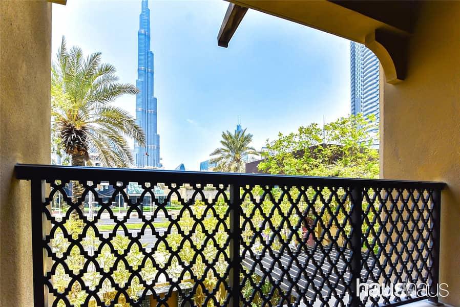 2100 Sqft | Burj View | 3 bed plus maids & study