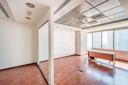 Office for Sale in Jumeirah Lake Towers (JLT), Dubai - Fitted and Partitioned | Premium Location