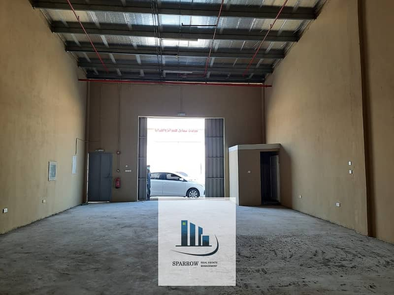120  Sqm store spaces for rent in Mussaffah