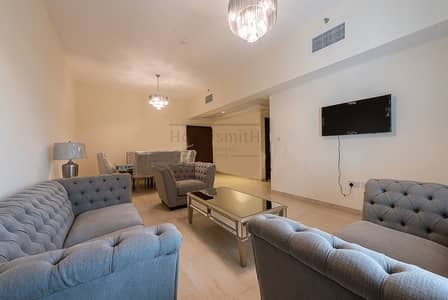 2 Bedroom Apartment for Rent in Al Furjan, Dubai - Cheapest & Fully Furnished 2 Br With Two Balconies