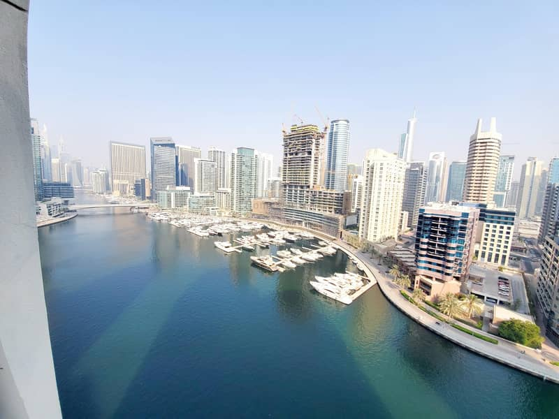 Full Marina View  Middle Floor in 80K  Well Maintain
