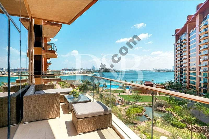 Sea View | Fully Furnished | Beach access