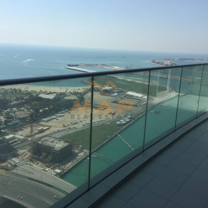 10  Full sea and Dubai Eye view with balcony