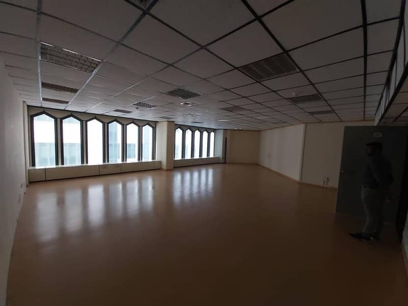 705 sqft Fully Fitted office Chiller Free for 70AED per SQFT Near Union Metro Station