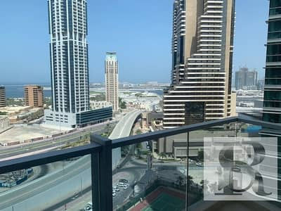 1 Bedroom Apartment for Rent in Dubai Marina, Dubai - Spacious Apartment    Sea view    High Floor