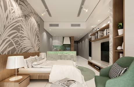 فلیٹ 1 غرفة نوم للبيع في مجمع دبي ريزيدنس، دبي - شقة في مجمع دبي ريزيدنس 1 غرف 642648 درهم - 4813187