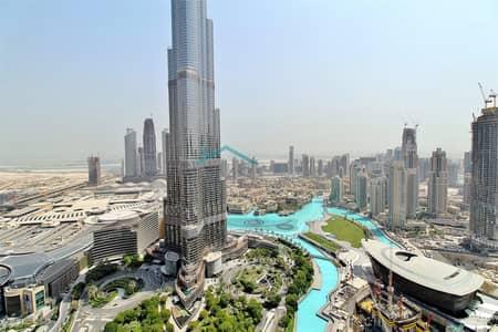 فلیٹ 3 غرف نوم للبيع في وسط مدينة دبي، دبي - Full Burj Khalifa View | 3 Bed | High Floor