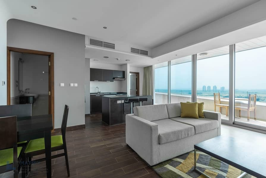 2 Unbelievable offer ! Furnished 1BR  Matrix  Tower