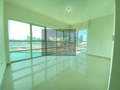 3 Bedroom Apartment for Rent in Al Reem Island, Abu Dhabi - Stunning Full Sea View! Apartment w/ Maid`s Room!
