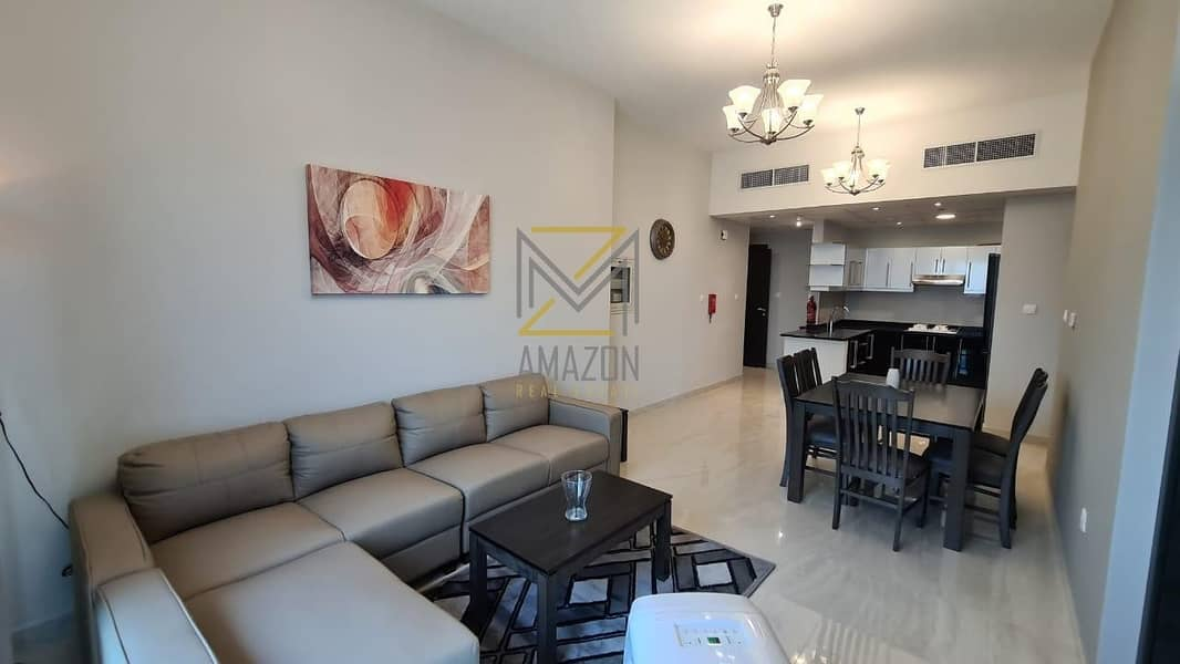 1 Bedroom fully furnished ready to move now 2 years payment plan