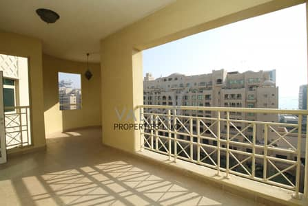 2 Bedroom Flat for Rent in Palm Jumeirah, Dubai - Ready to Move in | Type F | Community View