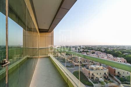 فلیٹ 1 غرفة نوم للايجار في مدينة دبي الرياضية، دبي - Amazing Golf View | Spacious Bright 1BR+Maids