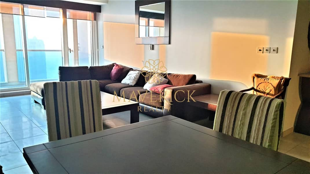Full Canal View | Furnished 2BR | High Floor