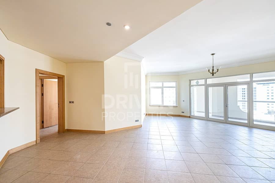 Spacious 3 BHK Apartment | Well-Maintained