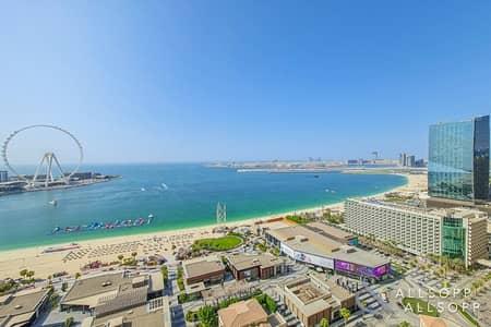 فلیٹ 2 غرفة نوم للايجار في جميرا بيتش ريزيدنس، دبي - UNFURNISHED | 2 BEDROOM | FULL SEA VIEW