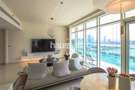3 Bedroom Flat for Sale in Dubai Harbour, Dubai - Spectacular Views In Every Direction!