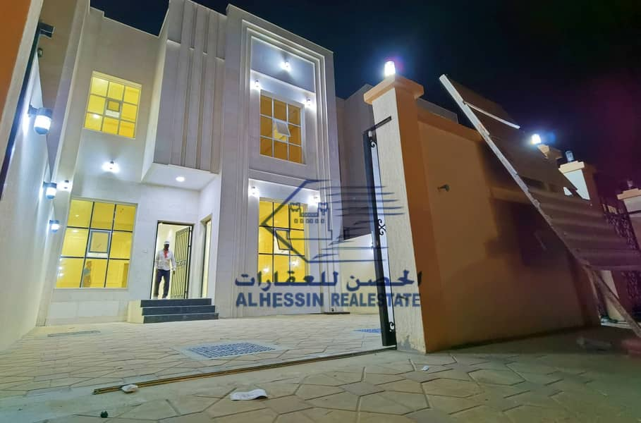 Owns a villa in Ajman in the Jasmine area, with easy bank financing and monthly payments and the lowest monthly installment