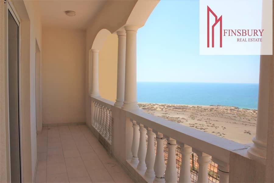 Spacious | Full Sea View | Huge Balcony | Gym | Swimming Pool