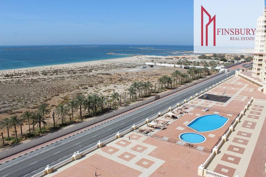 2 Spacious | Full Sea View | Huge Balcony | Gym | Swimming Pool