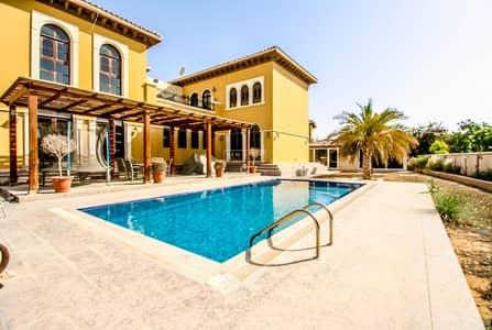 فیلا 6 غرف نوم للايجار في ذا فيلا، دبي - UNRIVALLED 6BR Grand Mallorca W/ Huge Swimming Pool!