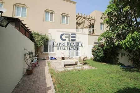 2 Bedroom Villa for Sale in The Springs, Dubai - Internal road view |Type 4M | Springs 11