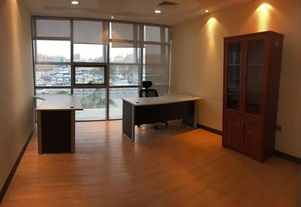 Office for Rent in Deira, Dubai - No Commission! -Ready EJARI / DEWA Free / Fully Serviced Office AED 12,500 /yr