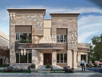 8 Bedroom Villa for Sale in Mohammed Bin Zayed City, Abu Dhabi - For Sale Villa | 8 MBR | External Extension