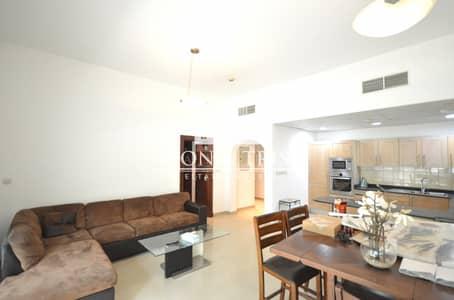 فلیٹ 1 غرفة نوم للايجار في دبي مارينا، دبي - Fully furnished 1 Bed on low floor I Chiller Free