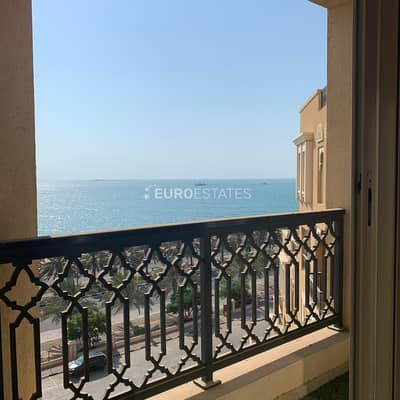 1 Bedroom Apartment for Rent in Al Marjan Island, Ras Al Khaimah - Stunning Sea View | Furnished