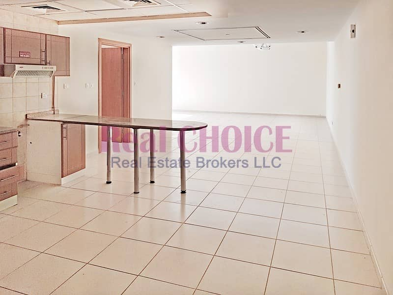 2 Spacious 1BR Apartment   Low Floor   Unfurnished