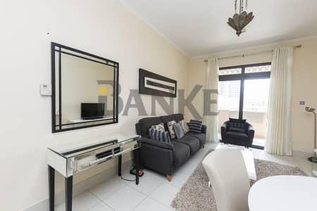 شقة 1 غرفة نوم للايجار في المدينة القديمة، دبي - furnished 1BED | Chiller Free | Vacant For Rent