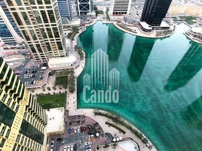Studio for Sale in Jumeirah Lake Towers (JLT), Dubai - Lower floor With balcony Lake view Near JLT Metro