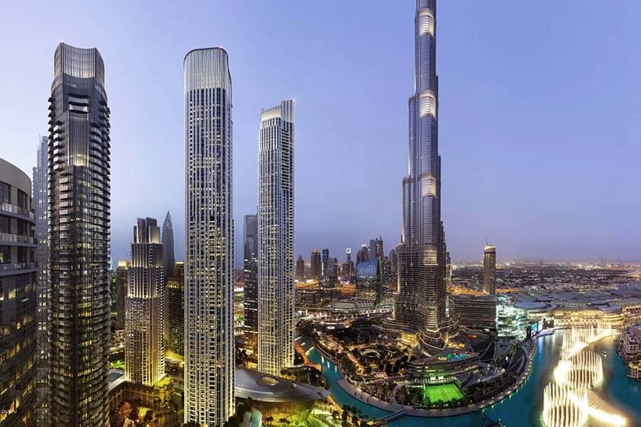 5 BR Penthouse | Stunning Burj Views | IL Primo