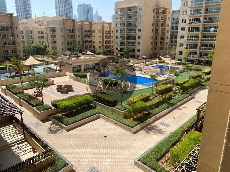 Spacious 1BR | Fully Furnished | Pool view