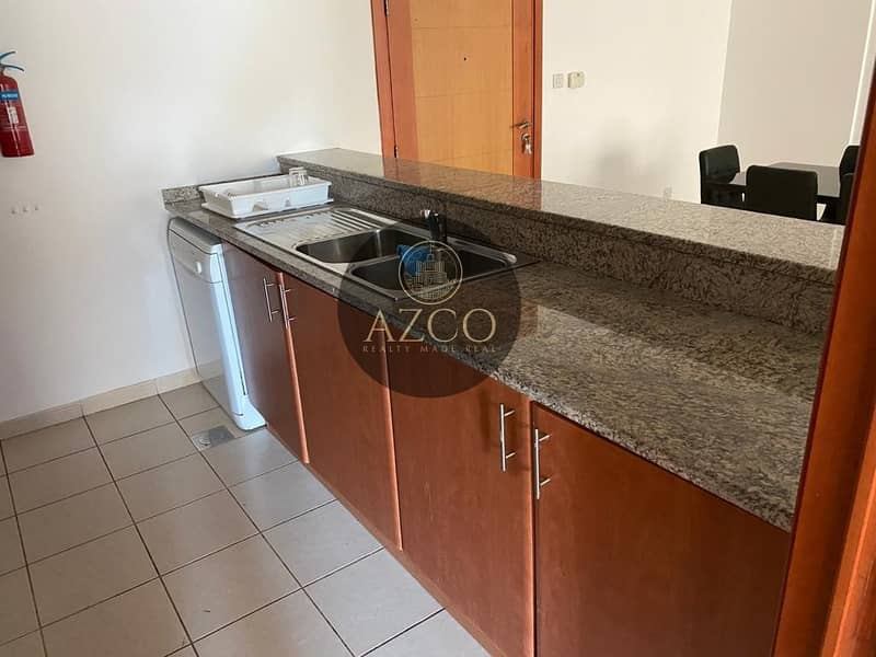 2 Spacious 1BR | Fully Furnished | Pool view