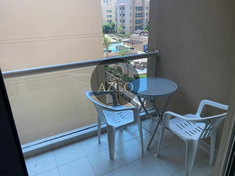 11 Spacious 1BR | Fully Furnished | Pool view
