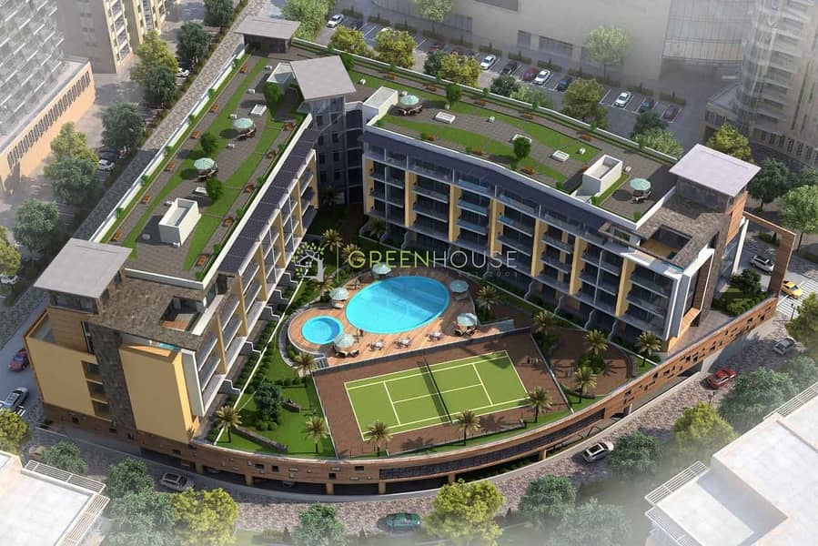 21 Luxurious Brand New Studio | Best Quality Units with Ideal Layout | Crystal Resi.