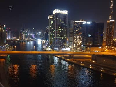 فلیٹ 1 غرفة نوم للايجار في الخليج التجاري، دبي - Spacious 1BR Apartment with Lake View