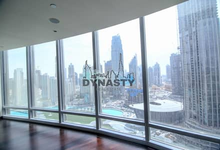 2 Bedroom Flat for Rent in Downtown Dubai, Dubai - 2 BR + Study |1 Lift |Type 2A |Multi Cheques