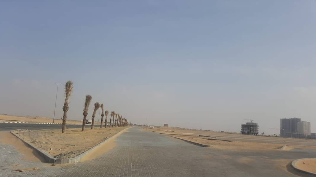 Land for sale close to the main street corner of two streets