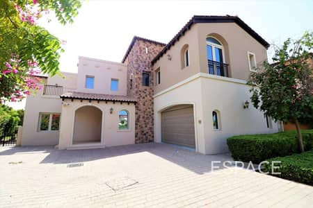 6 Bedroom Villa for Rent in Jumeirah Golf Estate, Dubai - Rare 6BR   Basement Level   Private Pool