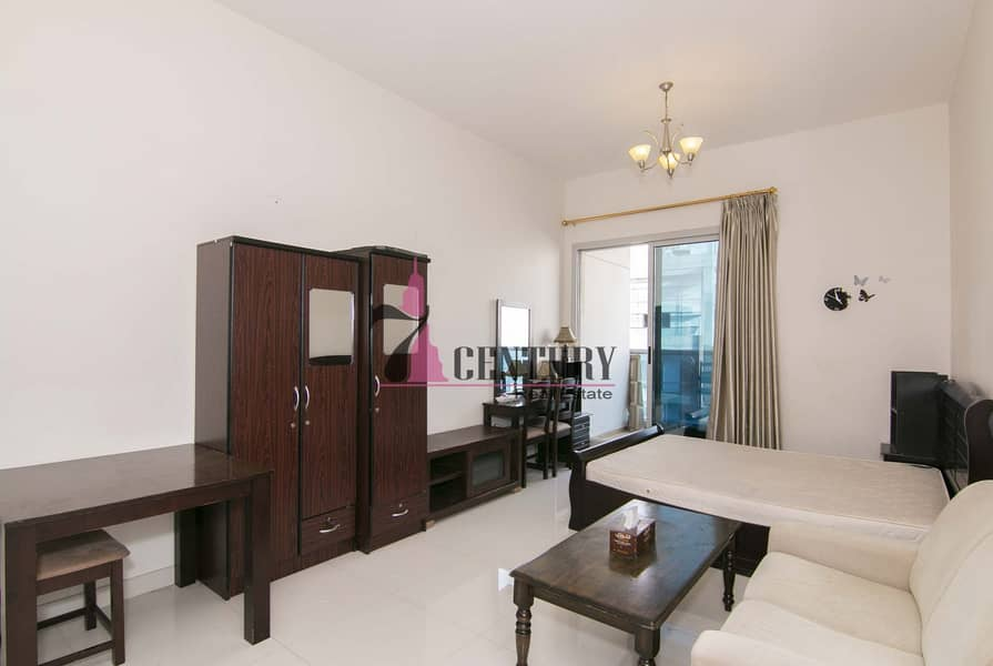 Well Maintained | Furnished | Studio Apt