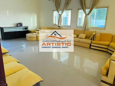 9 Bedroom Villa for Rent in Al Bahia, Abu Dhabi - Lavish villa for executive staff in Al Bahia near sea side