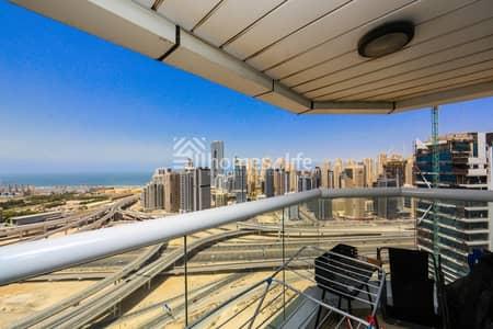 فلیٹ 2 غرفة نوم للبيع في أبراج بحيرات الجميرا، دبي - Lowest Price in JLT    High Floor    Dubai Gate 2