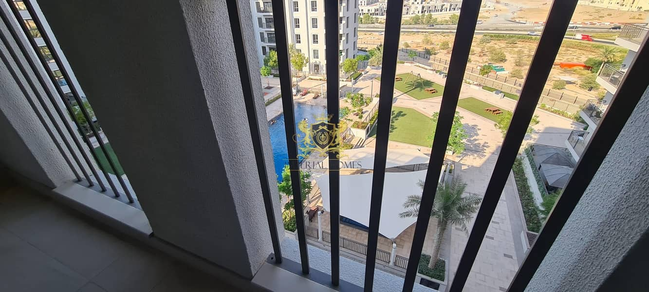 19 Huge Terrace | Furnished | Maid's Room | Pool View