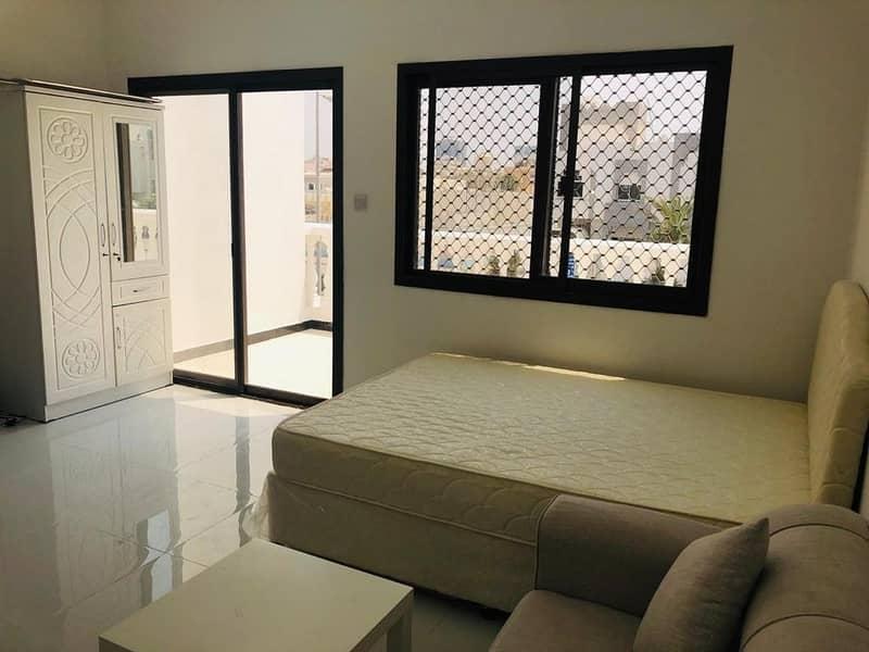 Upscale Studio W/Balcony & Parking | Tawtheeq Available