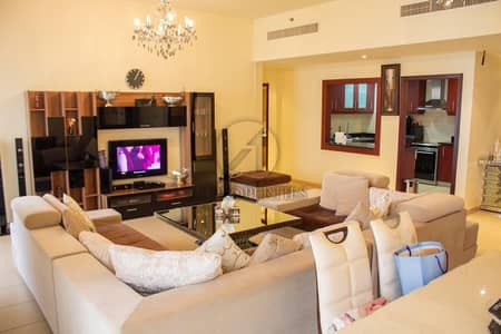 2 Bedroom Apartment for Rent in Jumeirah Beach Residence (JBR), Dubai - High Floor | Furnished | Sea Facing |Ready to Move