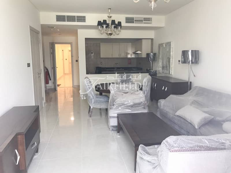 1br Apt with balcony for sale